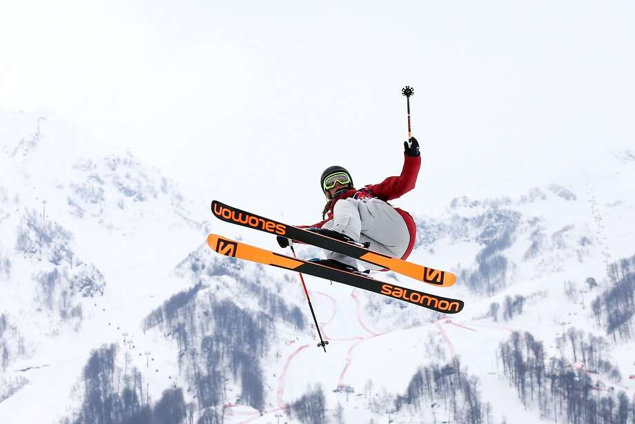 Dara Howell competes in the freestyle skiing women's slopestyle final. She said she was eager to return to Canada to ski with her 99-year-old grandfather, who's on the mountain every day. Photo: Cameron Spencer, Getty Images