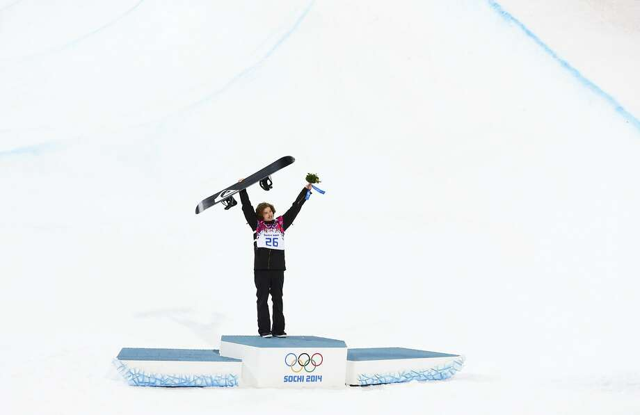 Shaun White finishes 4th as Swiss 'I-Pod' is golden