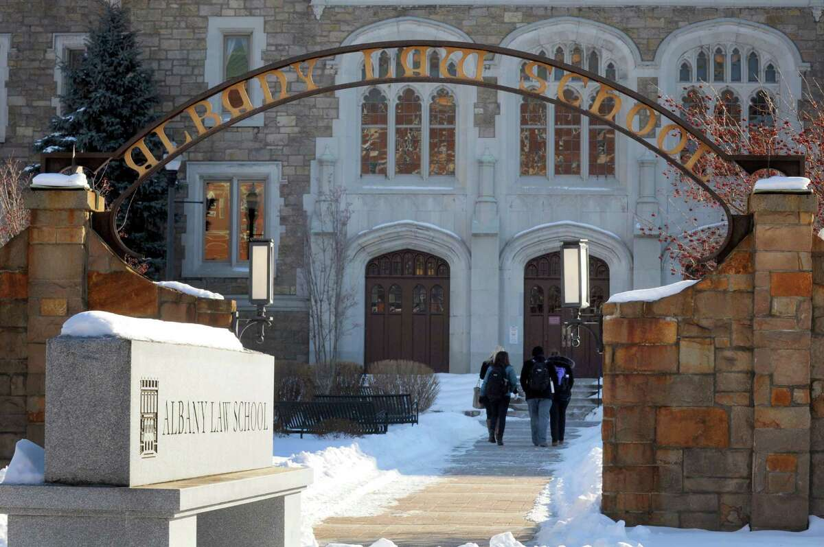 Albany Law School at 80 New Scotland Avenue Tuesday Feb. 11, 2014, in Albany, N.Y. (Michael P. Farrell/Times Union)