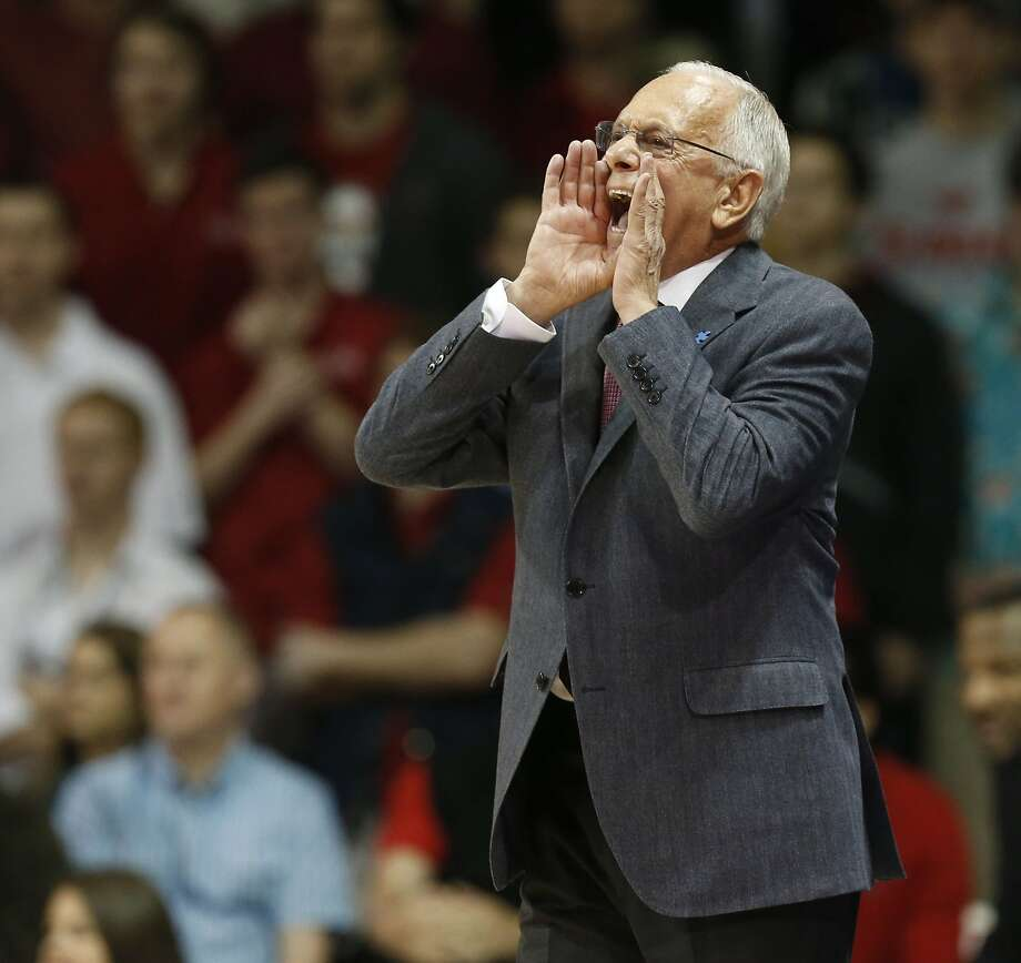 Longtime NBA and college coach Larry Brown has SMU ranked in the Top 25, thanks in part to a perfect record at its newly renovated Moody Coliseum in Dallas. Photo: Michael Ainsworth, McClatchy-Tribune News Service