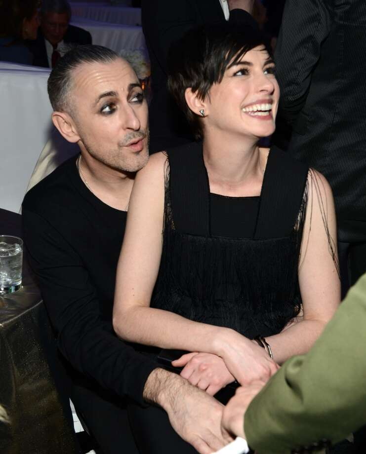 Alan Cumming and Anne Hathaway attend  The Great American Songbook event honoring Bryan Lourd at Alice Tully Hall on February 10, 2014 in New York City.  (Photo by Kevin Mazur/Getty Images for Lincoln Center) Photo: Kevin Mazur