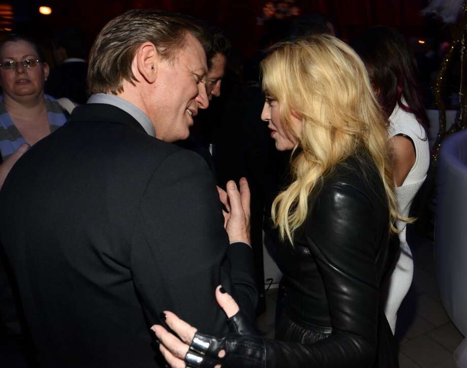 Daniel Craig and Madonna attend The Great American Songbook event honoring Bryan Lourd at Alice Tully Hall on February 10, 2014 in New York City.  (Photo by Kevin Mazur/Getty Images for Lincoln Center) Photo: Kevin Mazur