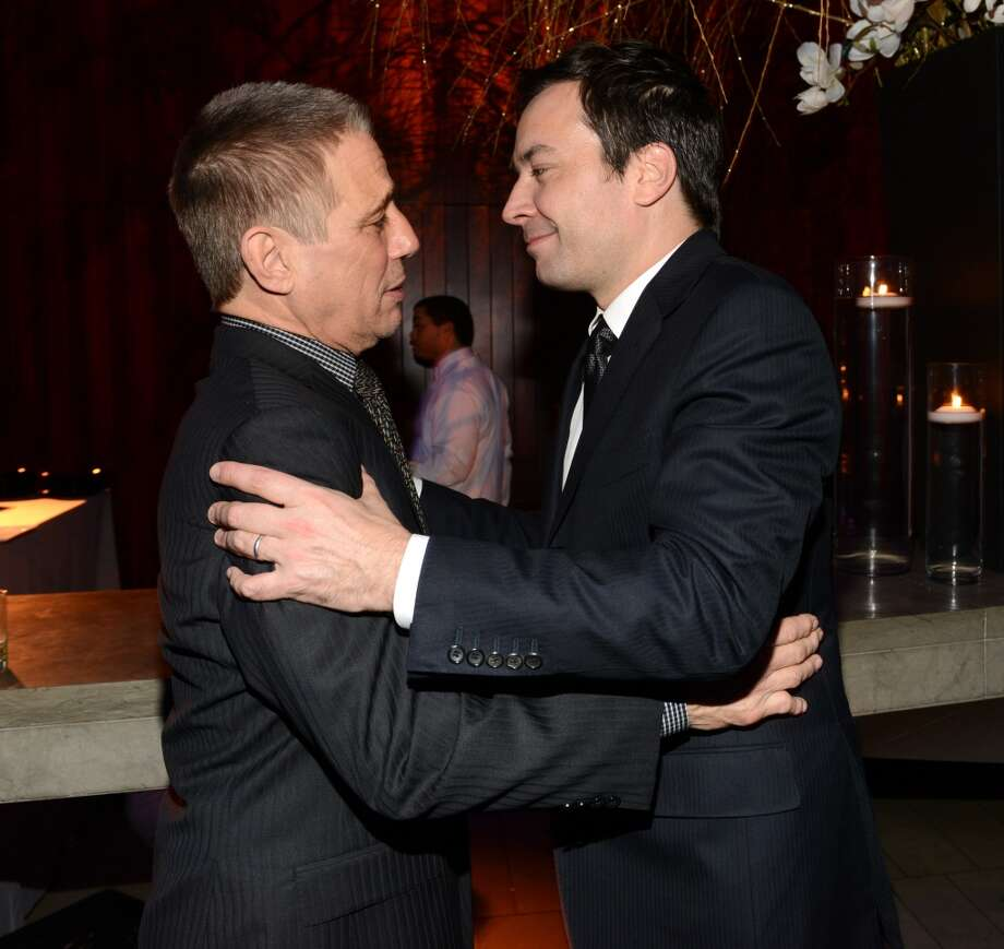 Tony Danza and Jimmy Fallon attend The Great American Songbook event honoring Bryan Lourd at Alice Tully Hall on February 10, 2014 in New York City.  (Photo by Kevin Mazur/Getty Images for Lincoln Center) Photo: Kevin Mazur