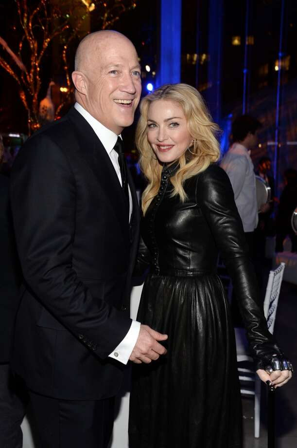Bryan Lourd and Madonna attend the Great American Songbook event honoring Bryan Lourd at Alice Tully Hall on February 10, 2014 in New York City.  (Photo by Theo Wargo/Getty Images for Lincoln Center) Photo: Theo Wargo, Getty Images For Lincoln Center