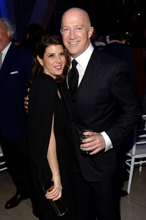 Actress Marisa Tomei and Bryan Lourd attend the Great American Songbook event honoring Bryan Lourd at Alice Tully Hall on February 10, 2014 in New York City.  (Photo by Theo Wargo/Getty Images for Lincoln Center) Photo: Theo Wargo, Getty Images For Lincoln Center
