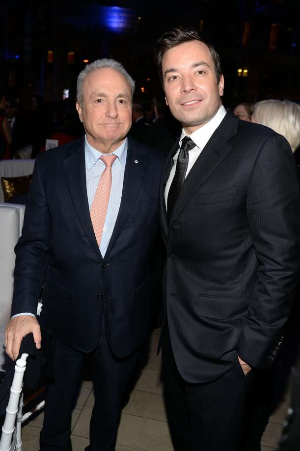 Lorne Michaels and Jimmy Fallon attend the Great American Songbook event honoring Bryan Lourd at Alice Tully Hall on February 10, 2014 in New York City.  (Photo by Theo Wargo/Getty Images for Lincoln Center) Photo: Theo Wargo, Getty Images For Lincoln Center