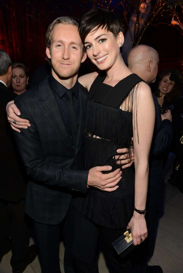 Adam Shulman and Anne Hathaway attend The Great American Songbook event honoring Bryan Lourd at Alice Tully Hall on February 10, 2014 in New York City.  (Photo by Kevin Mazur/Getty Images for Lincoln Center) Photo: Kevin Mazur, Getty Images For Lincoln Center