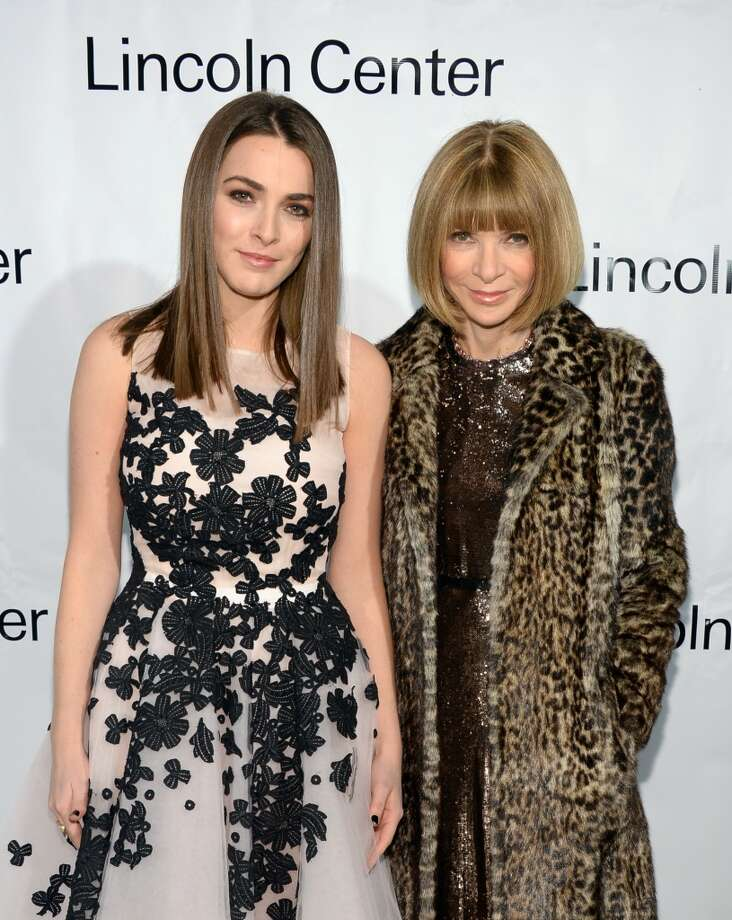 Editor-in-Chief at American Vogue Anna Wintour (R) and Bee Shaffer attend the Great American Songbook event honoring Bryan Lourd at Alice Tully Hall on February 10, 2014 in New York City.  (Photo by Theo Wargo/Getty Images for Lincoln Center) Photo: Theo Wargo, Getty Images For Lincoln Center