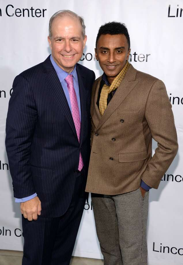 Chef Marcus Samuelsson (R) attends the Great American Songbook event honoring Bryan Lourd at Alice Tully Hall on February 10, 2014 in New York City.  (Photo by Theo Wargo/Getty Images for Lincoln Center) Photo: Theo Wargo, Getty Images For Lincoln Center
