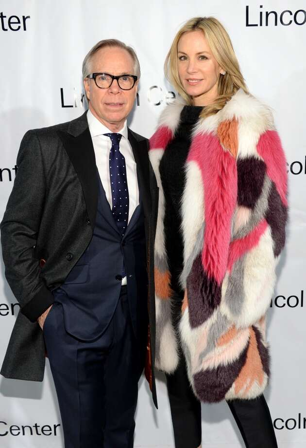 Fashion designer Tommy Hilfiger and Dee Hilfiger attends the Great American Songbook event honoring Bryan Lourd at Alice Tully Hall on February 10, 2014 in New York City.  (Photo by Theo Wargo/Getty Images for Lincoln Center) Photo: Theo Wargo, Getty Images For Lincoln Center
