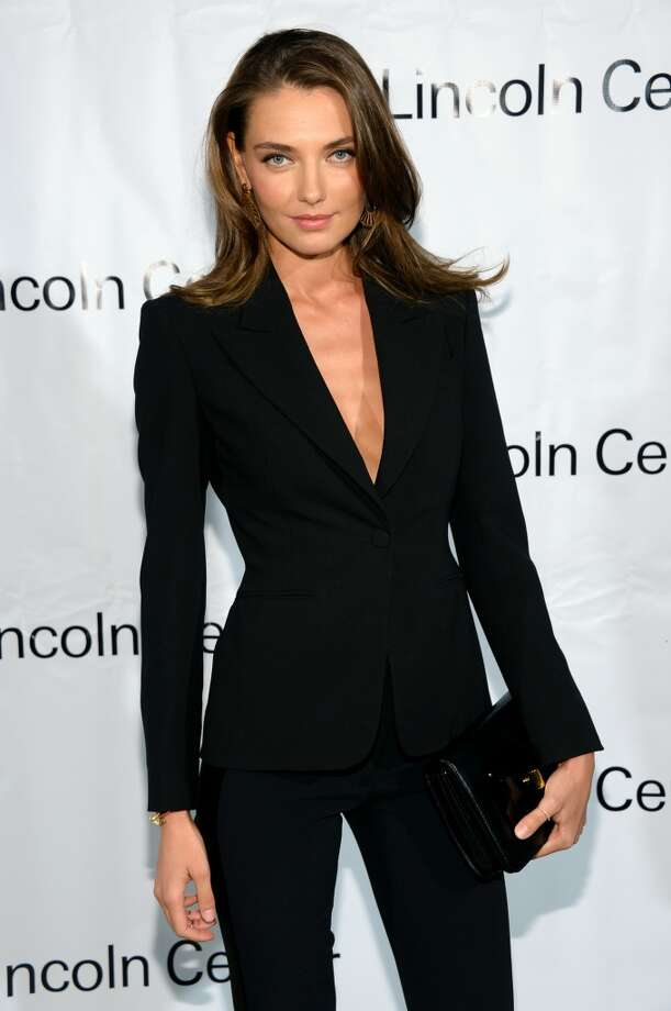 Model Alina Baikova attends the Great American Songbook event honoring Bryan Lourd at Alice Tully Hall on February 10, 2014 in New York City.  (Photo by Theo Wargo/Getty Images for Lincoln Center) Photo: Theo Wargo, Getty Images For Lincoln Center