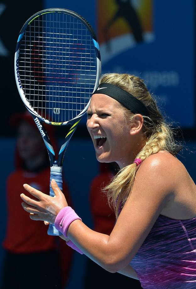 Victoria Azarenka of Belarus was drafted by Philadelphia in World Team Tennis. Photo: Paul Crock, AFP/Getty Images