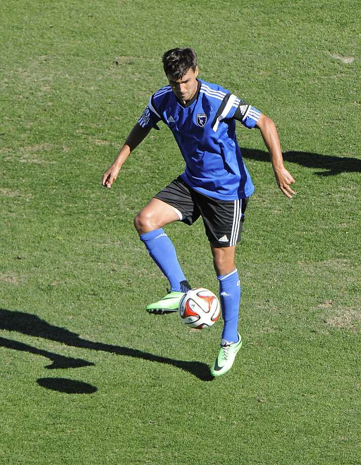 The Quakes' Chris Wondolowski said he expects the World Cup experience in Brazil to be great. Photo: Casey Sapio, Reuters