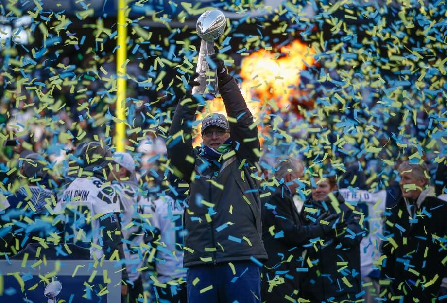 Season in Review: 12 storylines from Seattle's Super Bowl season The 2013 Seahawks will go down as perhaps the greatest team in Seattle sports history. Expected to be good, they were great, posting a 13-3 regular season before embarking on a thrilling playoff run that culminated in Super Bowl XLVIII, which was less a competition between two teams than a coronation of an undisputed champion. From Richard Sherman to Russell Wilson, Pete Carroll to Marshawn Lynch, this Hawks team featured engaging personalities and fascinating plotlines throughout the year. Click through the gallery to see our top 12 stories of the Seahawks Super Bowl season. Feel like we forgot something? Share your thoughts  in the comments section below. Photo: Otto Greule Jr, Getty Images