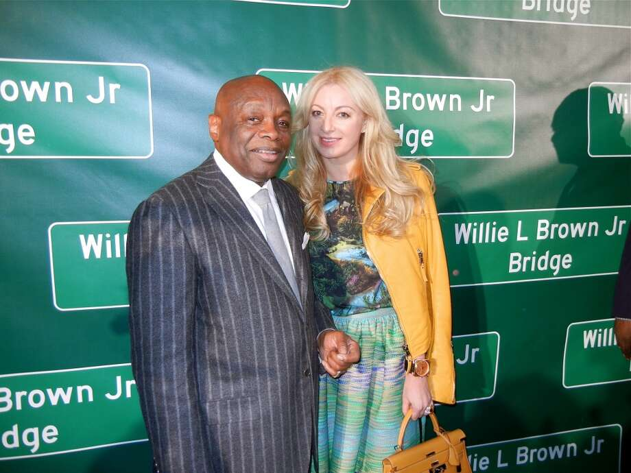 Willie Brown and his gal, Sonya Molodetskaya Photo: Catherine Bigelow