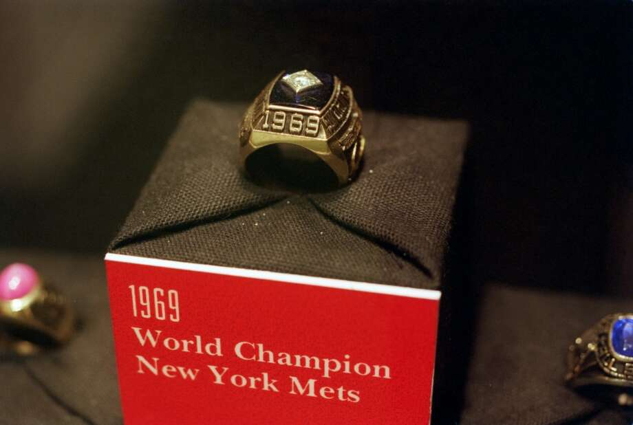 Nolan Ryan's World Series ring from the champion 1969 Photo: Kerwin Plevka, Houston Chronicle File Photo