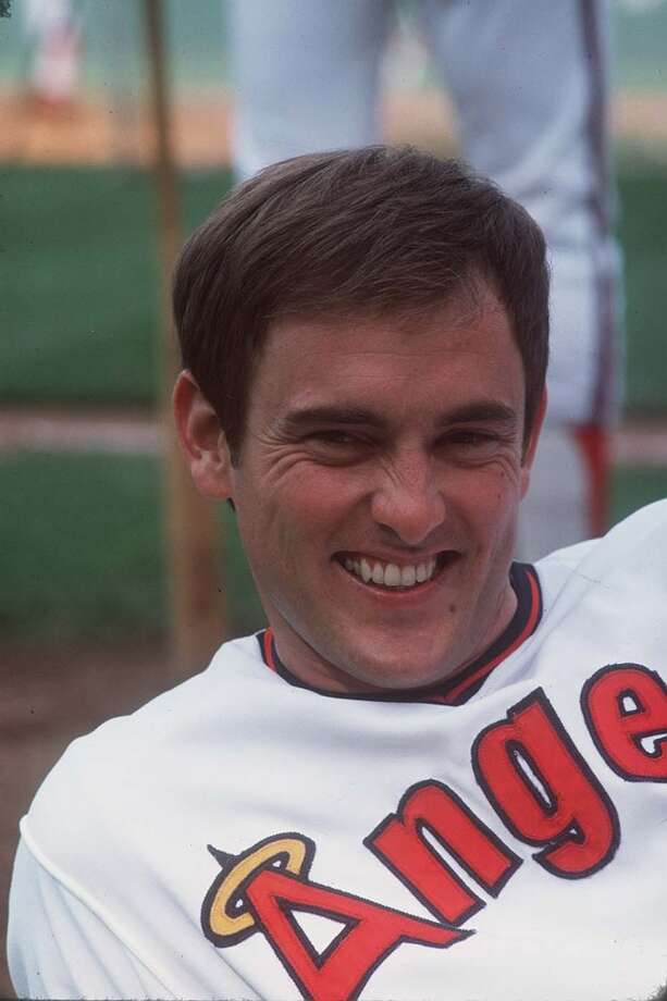 At the age of 28, Nolan Ryan has the face of an Angel after tying Sandy Koufax's record of four no-hitters in his 12th start of the 1975 season. Photo: John G. Zimmerman, Sports Illustrated