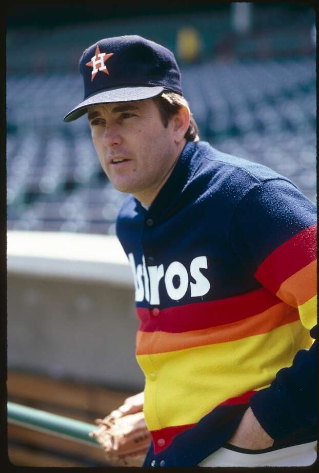 Nolan Ryan during his time with the Astros in 1986. Photo: Rich Pilling, Getty Images