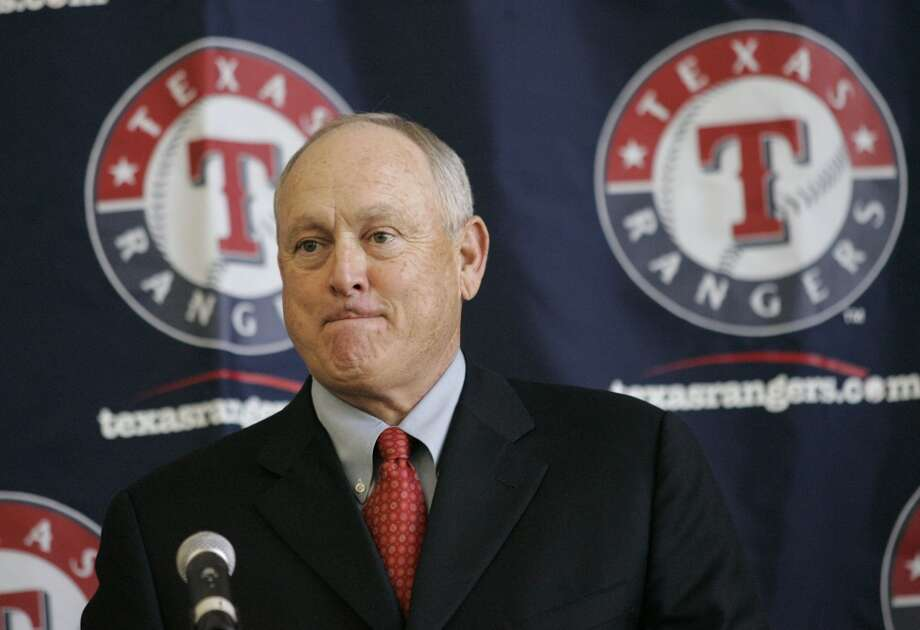 Nolan Ryan is introduced as the Rangers team president in Feb. 2008. Photo: Donna McWilliam, Associated Press
