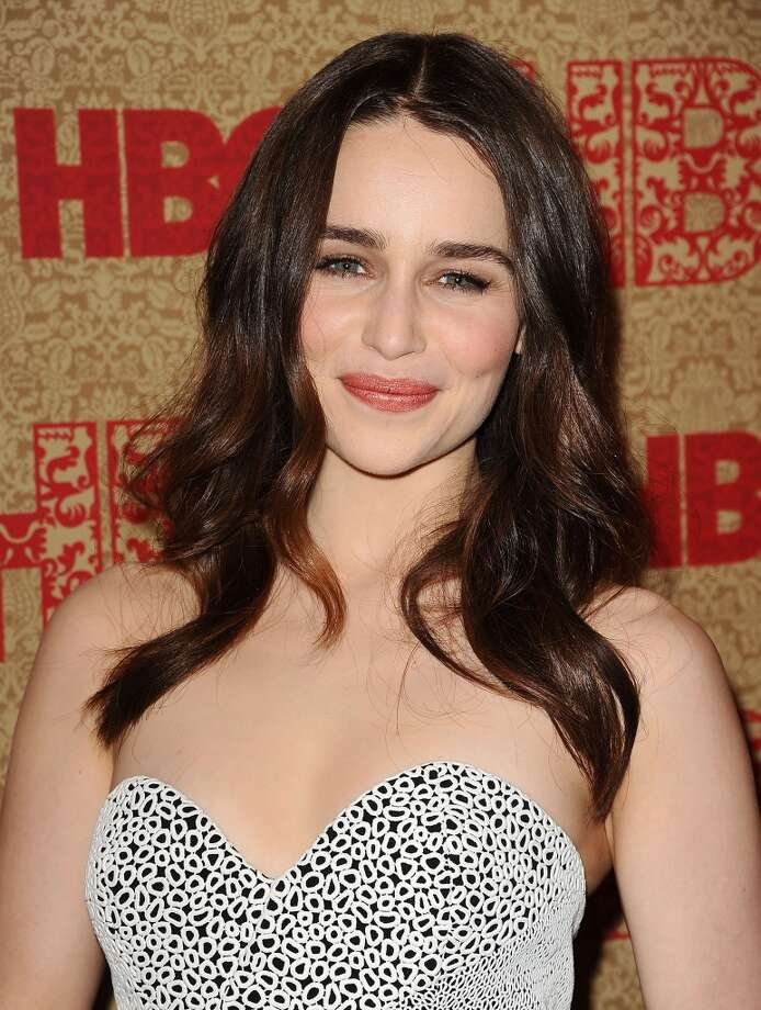 "Number 1 on AskMen.com most desirable women poll: ""Game of Thrones"" actress Emilia Clarke. Photo: Jason LaVeris, FilmMagic"