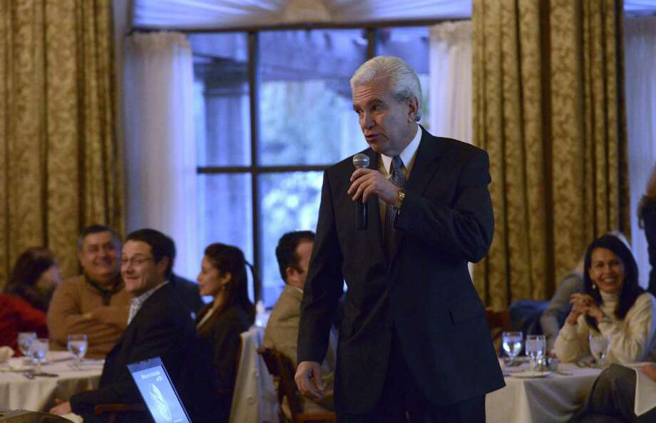 Addressing the Mexican Entrepreneurs Association, Raúl Rodríguez-Barocio said Mexico has a lot of catching up to do in the energy sector. Photo: Billy Calzada / San Antonio Express-News / Billy Calzada
