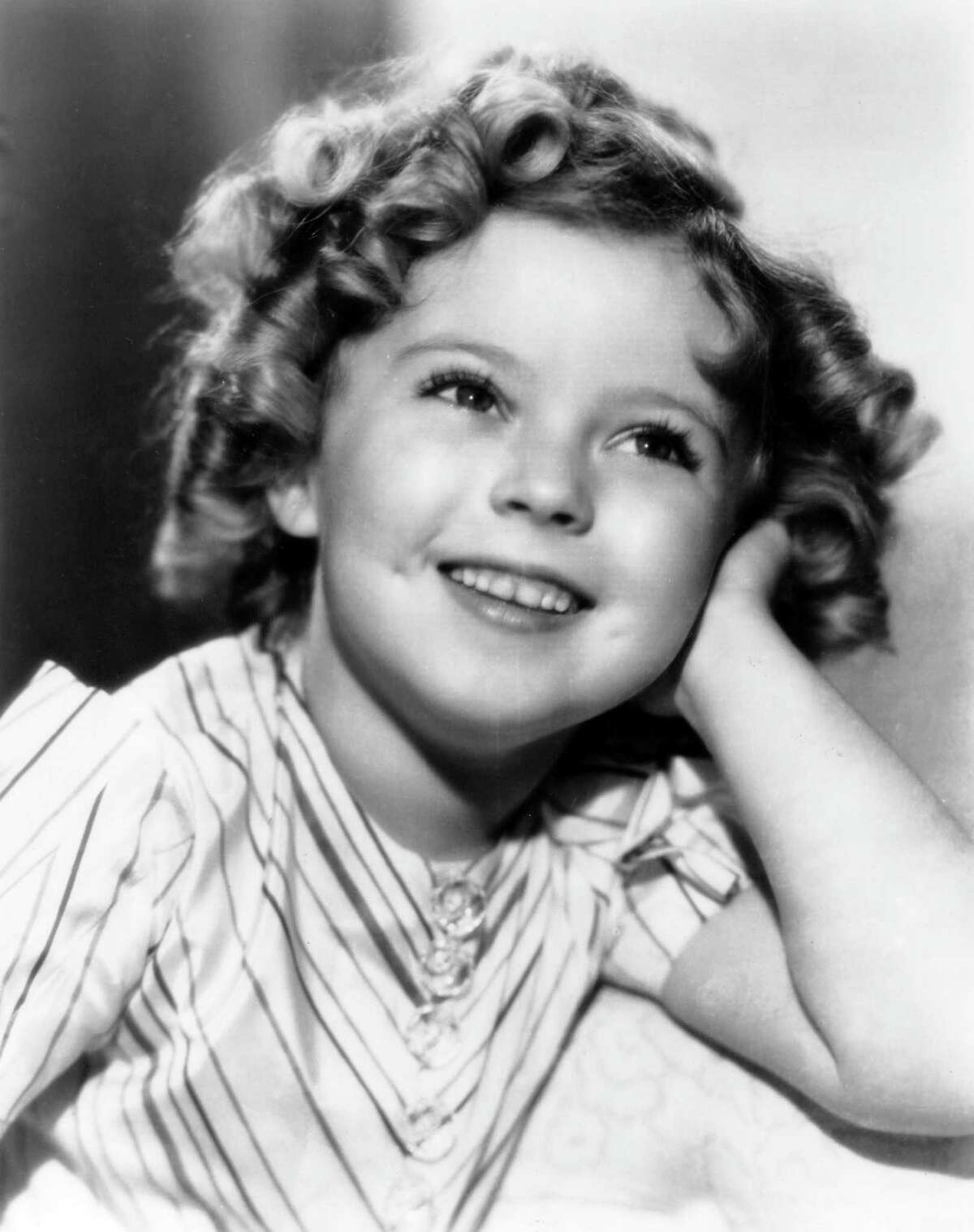 Star power Shirley Temple's smile lit up movie screens in the 1930s.
