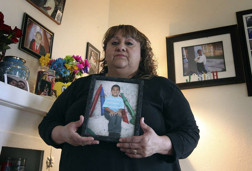 Patty Ojeda-Quintero took care of grandson Josiah Williams for eight months before his father and step-mother were awarded custody. The father, step-mother and a step-grandmother are awaiting trial on charges in his death, which happened in December 2012.
