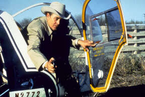 1974: Ben Johnson in  Sugarland Express.