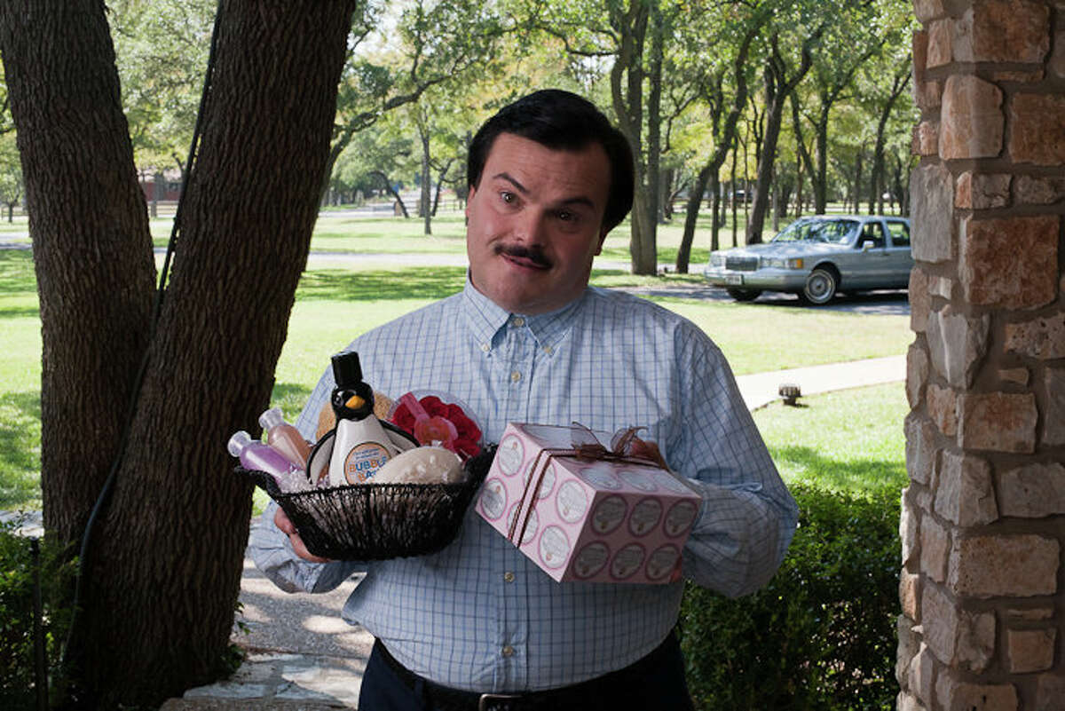 Bernie (2011) Jack Black was brilliant in Richard Linklater's film about a Carthage mortician who kills a wealthy elderly widow. Filming took place in central Texas, including Austin, Lockhart, Georgetown, Smithville and Bastrop.