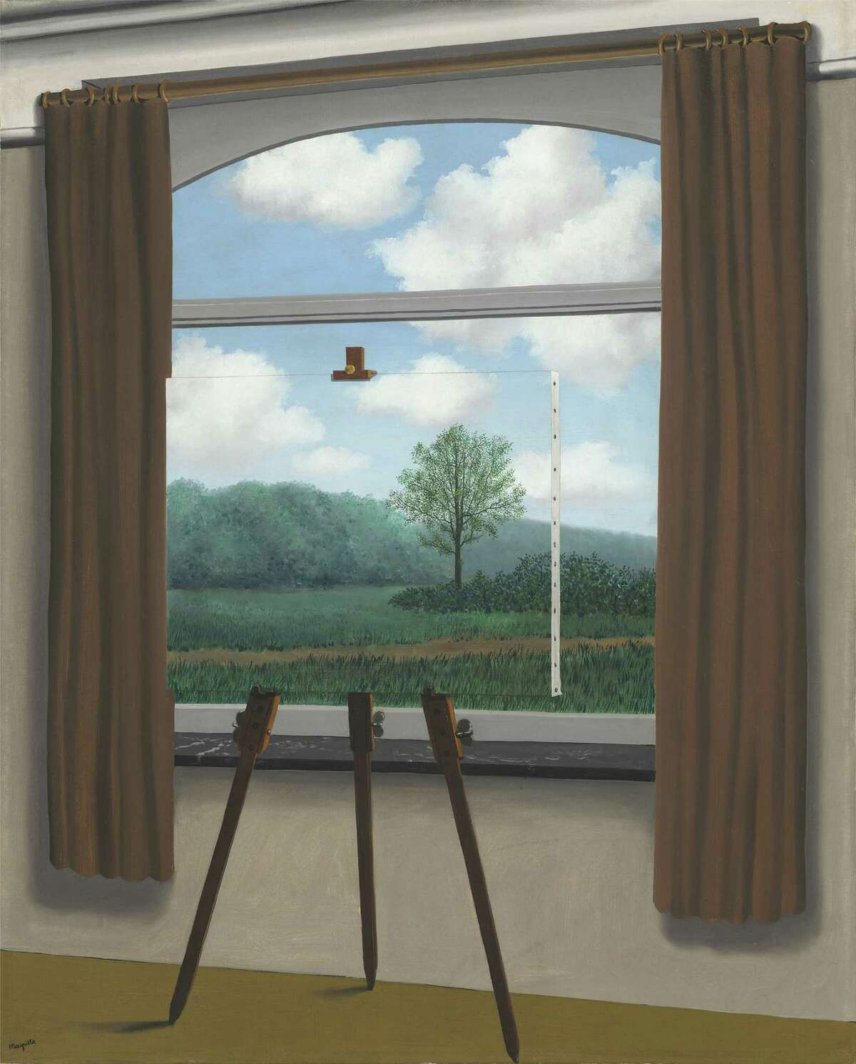 """""""The Human Condition"""": A little Magritte never hurt anyone."""