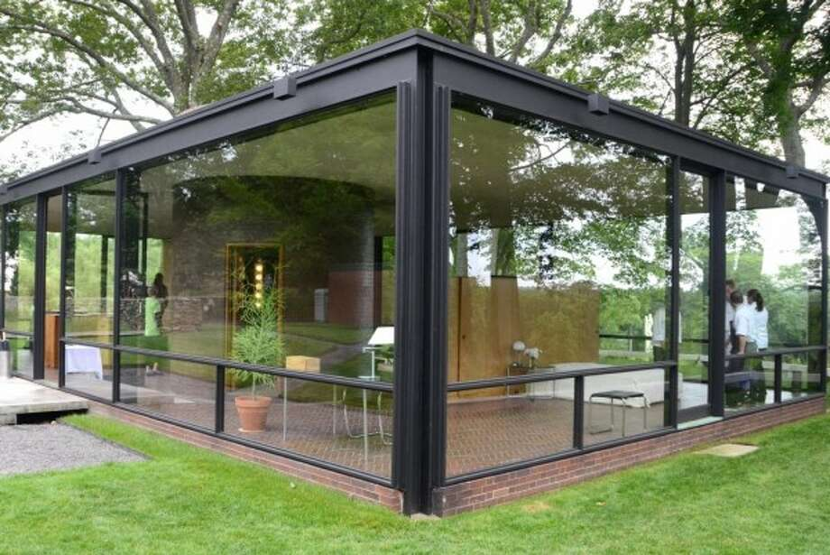 The Glass House, as photographed on June 9, 2012, New Canaan, Conn. FILE PHOTO