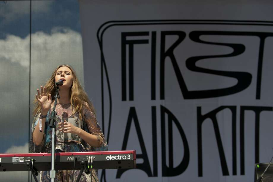First Aid Kit: Saturday, May 31 at 2:50 p.m.Neptune Stage Fans of Fleet Foxes and other folk-minded music should dig the music made by sisters Johanna and Klara Söderberg.