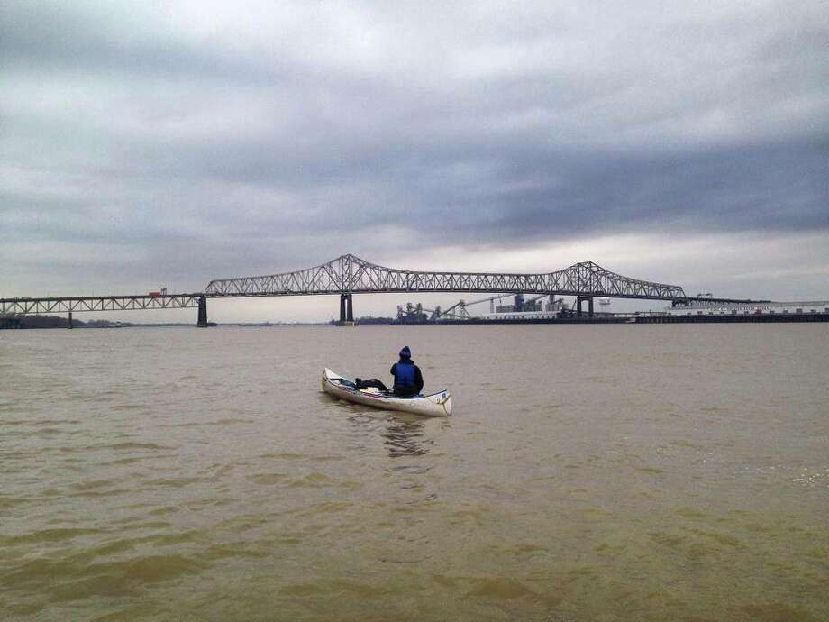 Scenes from Kevin Brady's Mississippi River adventure. (Kevin Brady photos)