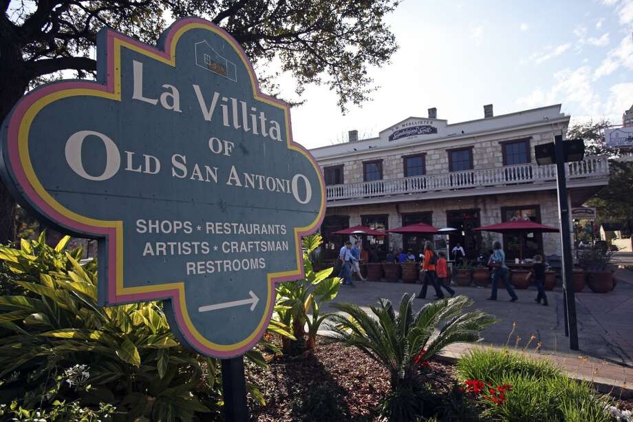 8. LA VILLITA: Another tourist activity that doesn't have to be. Y'all could spend an entire afternoon in the old neighborhood — peaking into shops and collecting trinkets and art. Photo: Tom Reel, Express-News
