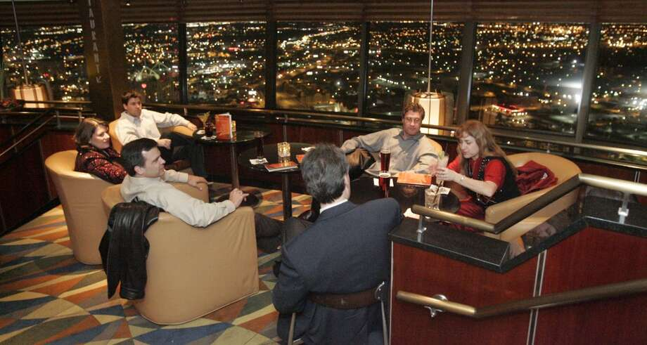 6. TOWER OF THE AMERICAS: Whether it's dinner, drinks or both, you can't go wrong passing the time in the tower, which provides panoramic views of downtown and the East Side. Photo: Alicia Wagner Calzada, Special To The Express-News