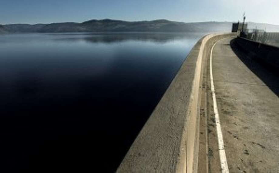 The Pardee Reservoir collects water for East Bay residents from the Mokelumne River, which runs from the Sierra.