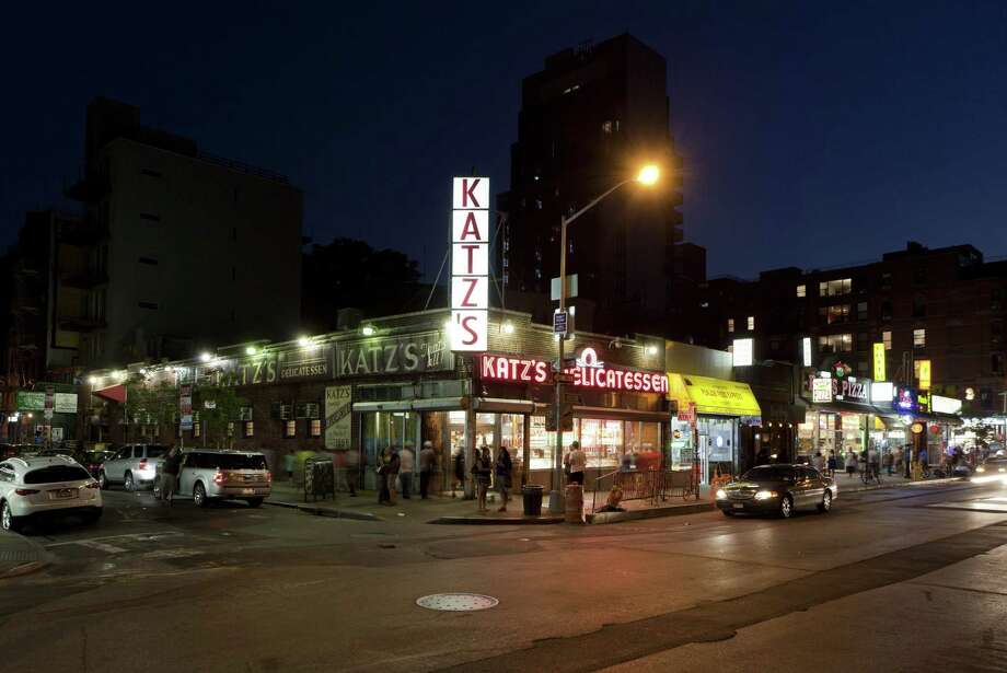 A fixture in New York's Lower East Side neighborhood since 1888, Katz's Delicatessen is a holdover from a time that has long disappeared from the old neighborhood. (Will Steacy/Courtesy of NYCgo/MCT)   ORG XMIT: 1148805 Photo: HANDOUT / MCT