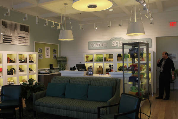 3of5The San Antonio Shoemakers retail store at Alamo Quarry Markey is contemporary and bright. Nancy Richardson, the company's CEO, is bringing updates and ...