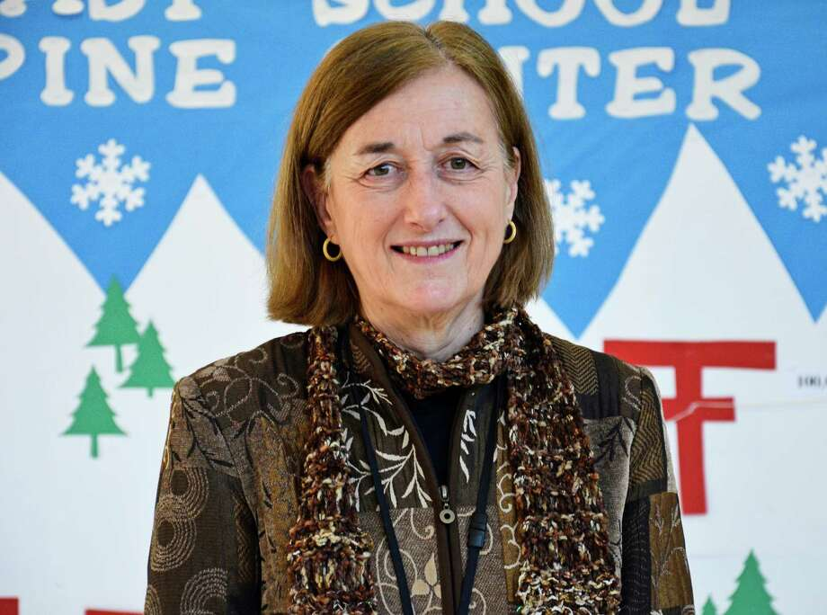 "East Elementary School Principal Alexandra ""Bunny"" Potts in a Feb. 12 photo. Potts has announced she will retire at the end of this school year. Photo: Nelson Oliveira / New Canaan News"