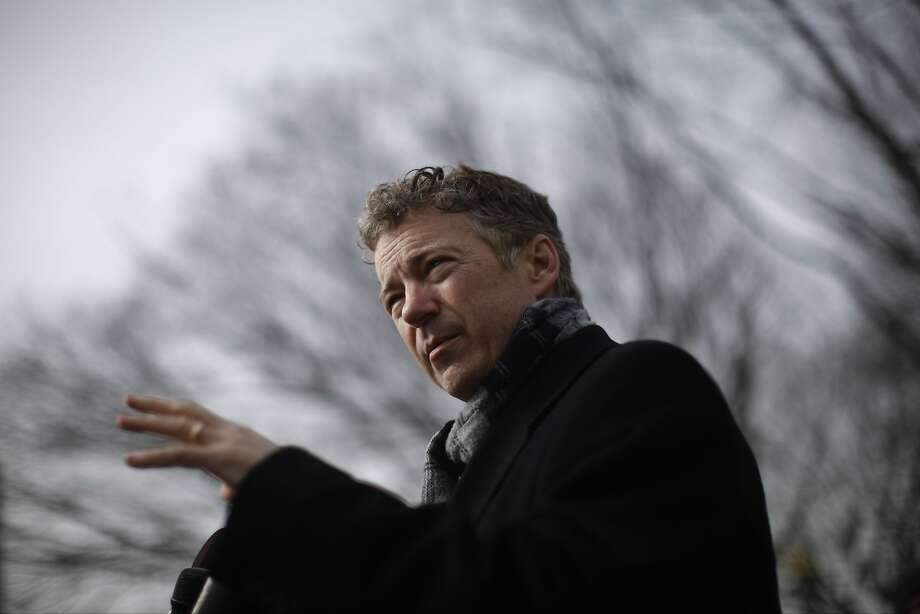 Sen. Rand Paul, R-Ky., wants the collection of records halted. Photo: Charles Dharapak, Associated Press