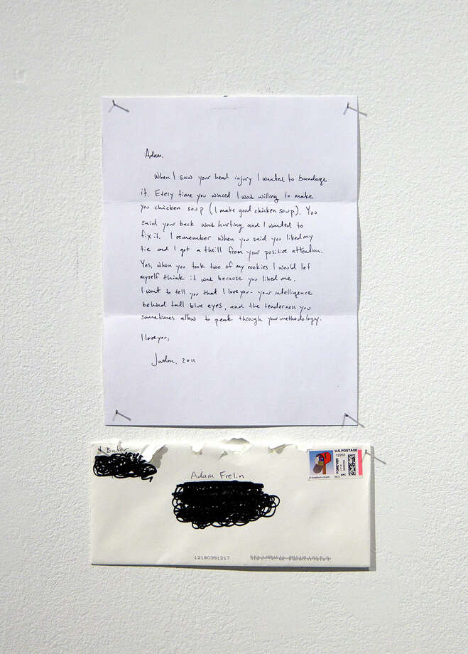 """Work from Jordan Bakers' exhibition """"I Wrote You a Love Letter"""" (Courtesy the artist)"""