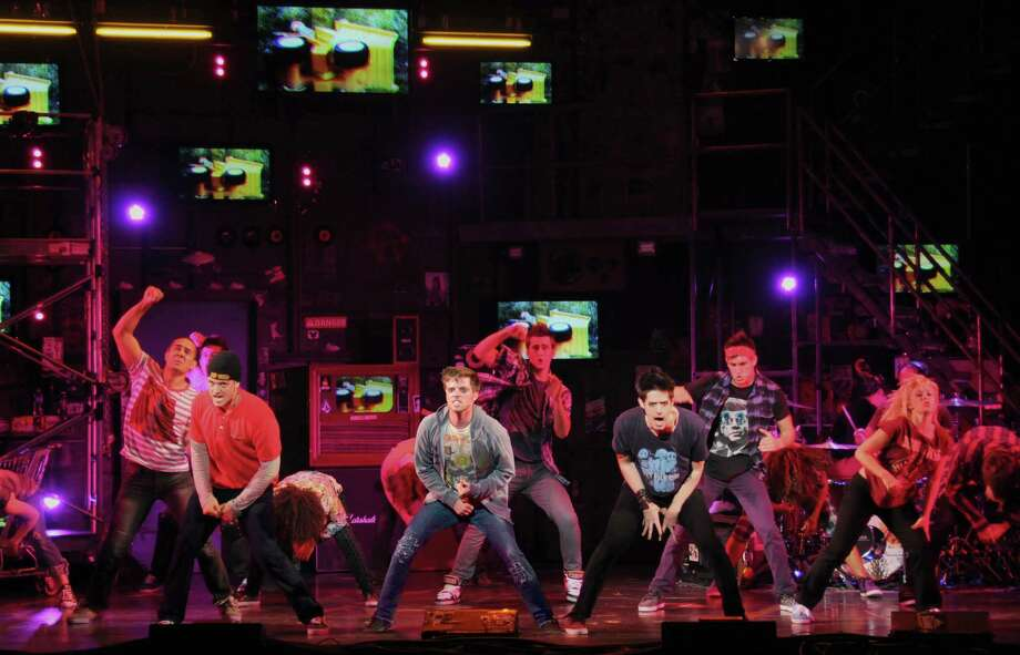 Thomas Hettrick (Tunny), Alex Nee (Johnny) and Casey O'Farrell (Will) in AMERICAN IDIOT (Photo by John Daughtry) Photo: JOHN DAUGHTRY / LOF PRODUCTIONS 2011