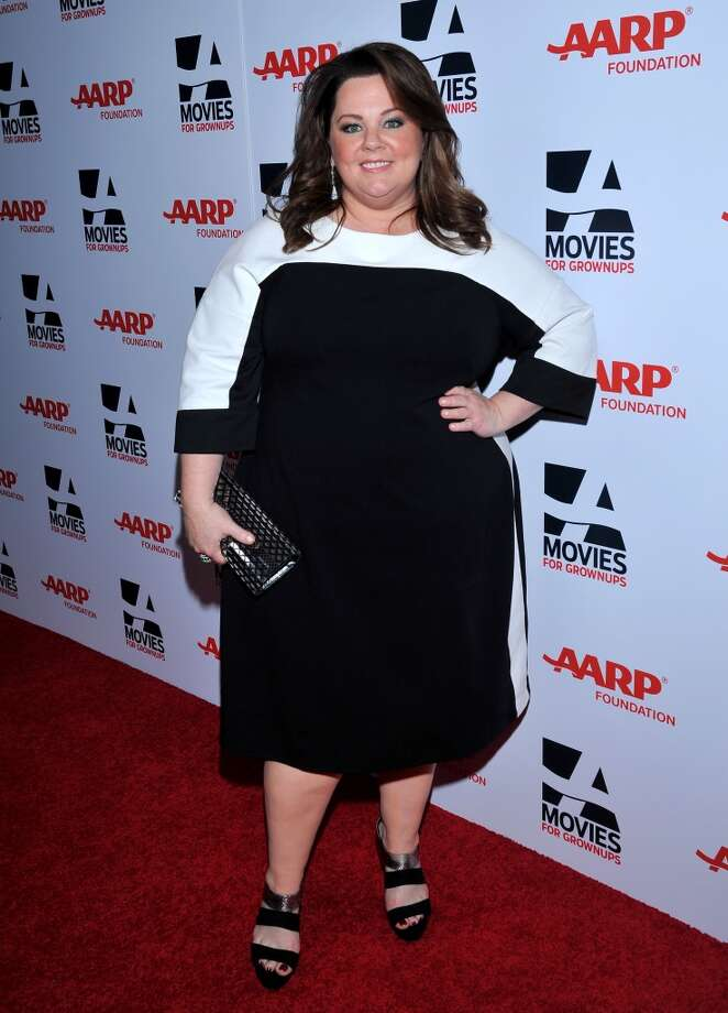 Actress Melissa McCarthy arrives at the 2014 AARP's Movies for Grownups Gala, on Monday, Feb. 10th, 2014 in Beverly Hills, Calif. (Photo by Vince Bucci/Invision for AARP Media/AP Images) Photo: Vince Bucci, Associated Press