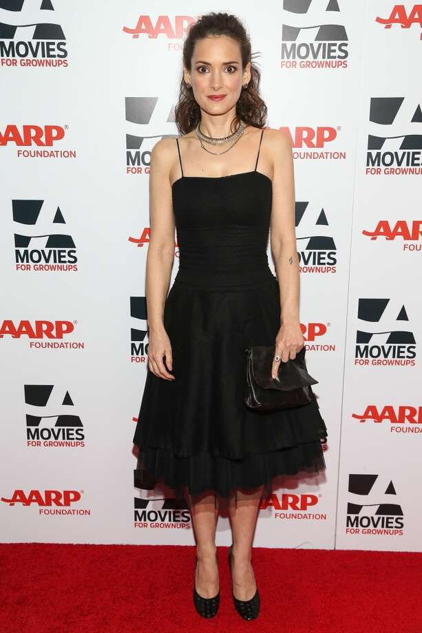 Actress Winona Ryder attends the 13th Annual AARP's Movies For Grownups Awards Gala at Regent Beverly Wilshire Hotel on February 10, 2014 in Beverly Hills, California.  (Photo by Imeh Akpanudosen/Getty Images) Photo: Imeh Akpanudosen, Getty Images