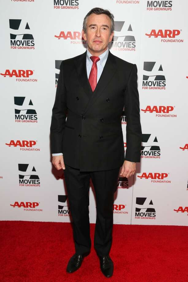 Actor Steve Coogan attends the 13th Annual AARP's Movies For Grownups Awards Gala at Regent Beverly Wilshire Hotel on February 10, 2014 in Beverly Hills, California.  (Photo by Imeh Akpanudosen/Getty Images) Photo: Imeh Akpanudosen, Getty Images