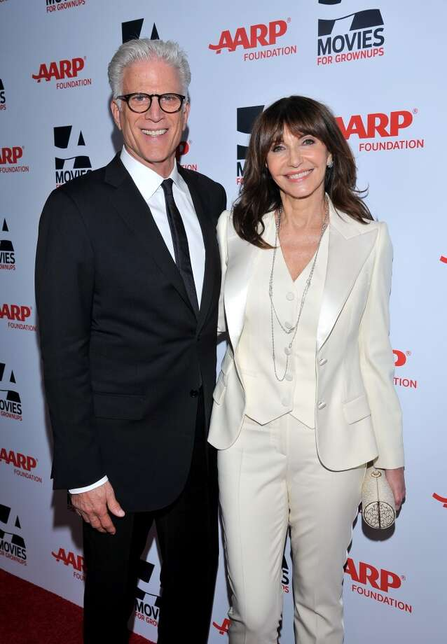 Actors Ted Danson, left, and Mary Steenburgen arrive at the 2014 AARP's Movies for Grownups Gala, on Monday, Feb. 10th, 2014 in Beverly Hills, Calif. (Photo by Vince Bucci/Invision for AARP Media/AP Images) Photo: Vince Bucci, Associated Press