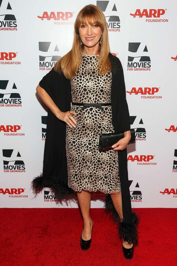 Actress Jane Seymour attends the 13th Annual AARP's Movies For Grownups Awards Gala at Regent Beverly Wilshire Hotel on February 10, 2014 in Beverly Hills, California.  (Photo by Imeh Akpanudosen/Getty Images) Photo: Imeh Akpanudosen, Getty Images