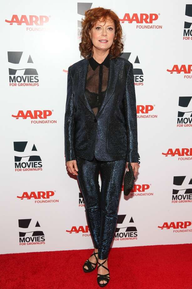 Actress Susan Sarandon attends the 13th Annual AARP's Movies For Grownups Awards Gala at Regent Beverly Wilshire Hotel on February 10, 2014 in Beverly Hills, California.  (Photo by Imeh Akpanudosen/Getty Images) Photo: Imeh Akpanudosen, Getty Images