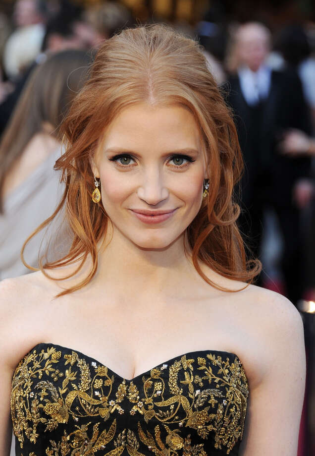 Jessica Chastain in ZERO DARK THIRTY -- she lost to Jennifer Lawrence in SILVER LININGS PLAYBOOK, and shouldn't have. Photo: Michael Buckner, Getty Images / 2012 Getty Images