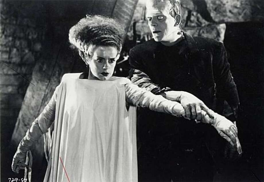 BRIDE OF FRANKENSTEIN (1935) -- a fascinating blend of horror and horror spoof, worthy of serious consideration for Best Picture. And what about Karloff in the best monster -- or Best Actor -- category? (The Academy gave those awards to MUTINY ON THE BOUNTY and Victor McLaglen, for THE INFORMER, respectively.)